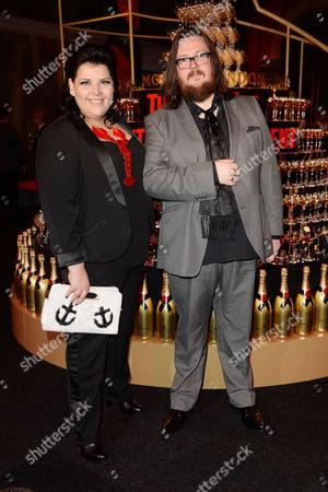 Moet British Independent Film Awards at the Old Billingsgate Market Iain Forsyth and Jane Pollard