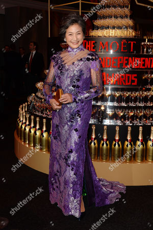 Moet British Independent Film Awards at the Old Billingsgate Market Cheng Pei-pei