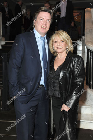 Blithe Spirit Press Night at the Gielgud Theatre and Afterparty at the Rosewood Hotel Holborn Elaine Paige and Justin Mallinson