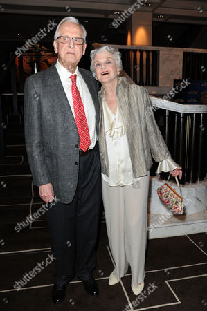 Blithe Spirit Press Night at the Gielgud Theatre and Afterparty at the Rosewood Hotel Holborn Director Michael Blakemore and Angela Lansbury