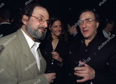 Book Publication Party For 'The Information' at the Cobham Working Mans Club Salman Rushdie Isabel Fonseca and Harold Pinter