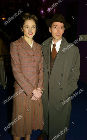 Brief Encounter Press Show at at the Cinema On the Haymarket the Haymarket Tristan Sturrock Who Plays Alec and Naomi Frederick Who Plays Laura