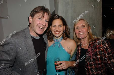 1st Night of Brighton Rock at the Almeida Theatre Islington Alan Price with His Wife & Daughter Elizabeth She Plays Delia in the Production