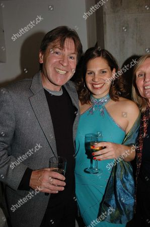 1st Night of Brighton Rock at the Almeida Theatre Islington Alan Price with & Daughter Elizabeth She Plays Delia in the Production