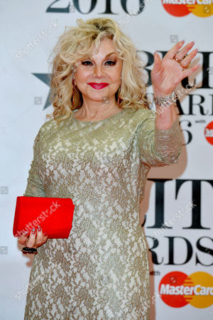 Brit Awards 2016 at the O2 - Arrivals Stella Parton