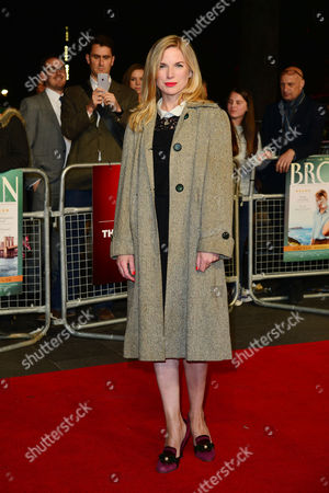 Stock Photo of Brooklyn Gala Screening at Odeon Leicester Square Eva Birthistle
