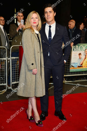 Stock Picture of Brooklyn Gala Screening at Odeon Leicester Square Eva Birthistle and Ross J Barr