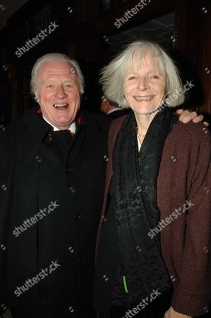 Re-opening of Browns Hotel After A Complete Refit in Albemarle Street London John Julius Norwich with His Wife