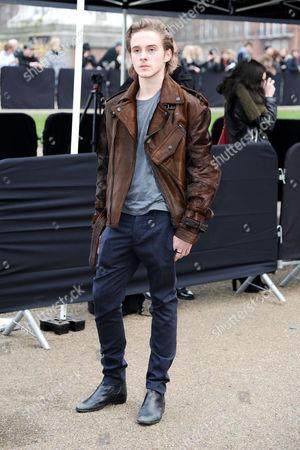 Burberry Fashion Show Arrivals at the Albert Memorial Hyde Park Alex Watson
