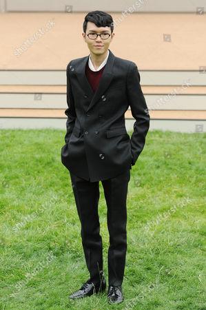 Burberry Prorsum Menswear Red Carpet Arrivals at Perks Field Kensington Palace Gardens Khalil Fong