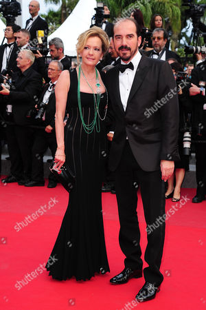 Closing Night Gala For the 68th Cannes Film Festival at the Palais Des Festivals Caroline Gruosi-scheufele and Guest