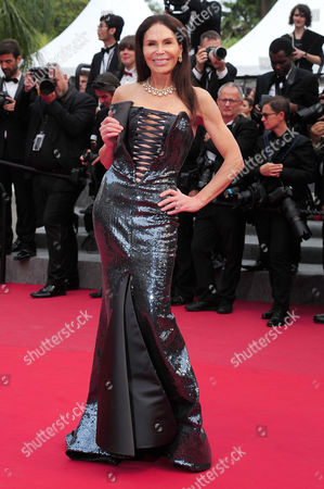 Closing Night Gala For the 68th Cannes Film Festival at the Palais Des Festivals Mouna Ayoub