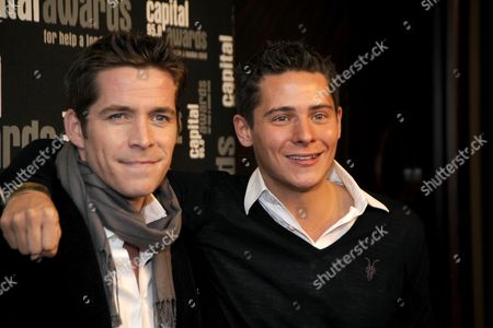 Capital Radio Awards at the Riverbank Park Plaza Sean Maguire and Christopher Parker