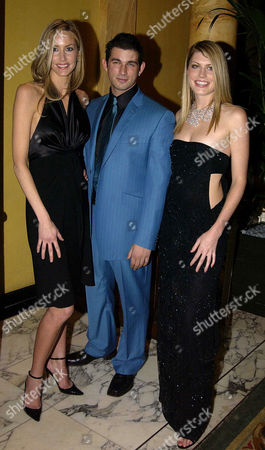 Stock Picture of Celebration of the Little Black Dress at the Dorchester Hotel with Jaguar and De Beers in Aid of Breast Cancer Charity the Haven Trust Lisa Butcher Cristian Solimeno and Meredith Ostrom