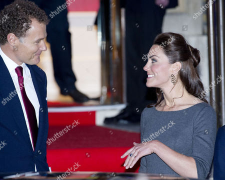 Reception to Launch the Imperial War Museum Foundation's First World War Galleries Centenary Campaign at the Imperial War Museum Lambeth Road Lord Jonathan Rothermere and Catherine Duchess of Cambridge