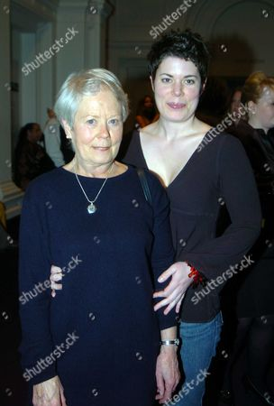 Charity Drinks Party and Photographic Exhibition in Aid of the Dogs Trust at the Royal Academy's Art Space Burlington Gardens Annette Crosbie with Her Daughter Selina Griffiths