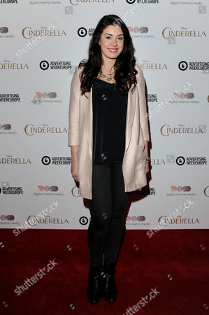 Editorial image of Cinderella Gala Screening - 24 Mar 2015