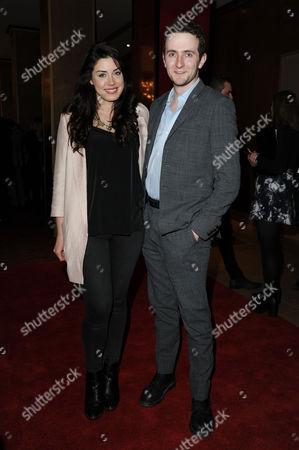 Stock Image of Cinderella Gala Screening at the Mayfair Hotel Bianca Hendrickse-spendlove and Tom Scurr