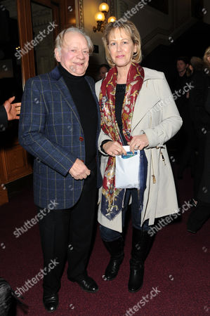 Cirque Du Soleil 'Quidam' at the Royal Albert Hall David Jason with His Wife Gill Hinchcliffe
