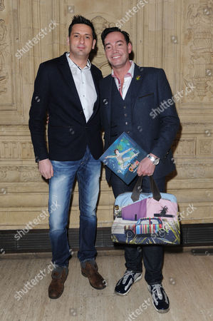 Cirque Du Soleil 'Quidam' at the Royal Albert Hall Craig Revel Horwood with His Boyfriend Damon Scott