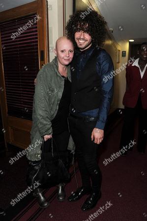 Cirque Du Soleil 'Quidam' at the Royal Albert Hall Gail Porter with Her Boyfriend Jonny Davies