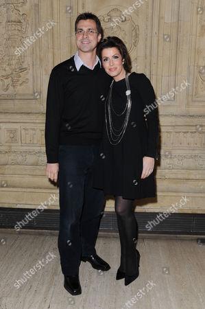 Cirque Du Soleil 'Quidam' at the Royal Albert Hall Natasha Kaplinsky with Her Husband Justin Bower