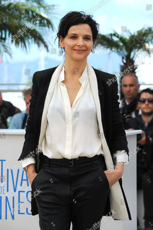 Clouds of Sils Maria Photocall at the Palais Des Festivals During the 67th Cannes Film Festival Juliet Binoche