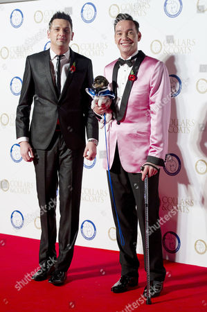 Collars and Coats Gala Ball in Aid of Battersea Dogs Home Craig Revel Horwood with His Boyfriend Damon Scott