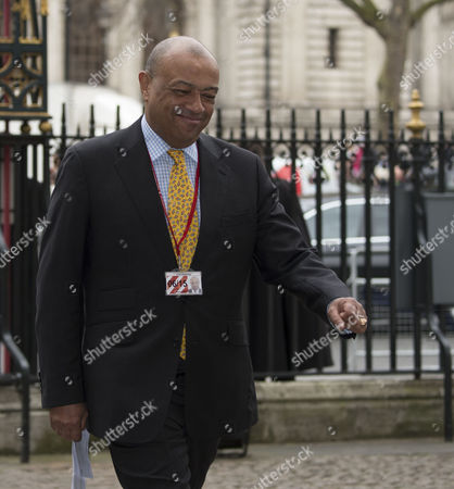 Stock Picture of the Annual Commonwealth Observance in Westminster Abbey Lord Paul Boateng