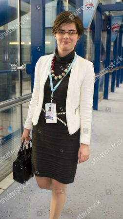 Conservative Party Autumn Conference at the Icc Birmingham Chloe Smith Mp