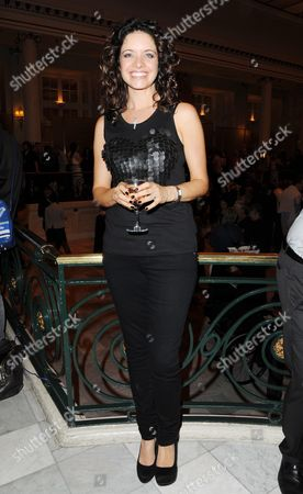 Cool Hand Luke First Night Curtain Call at the Aldwych Theatre and Afterparty at the Waldorf Hotel Jennifer James