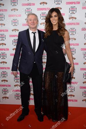 Cosmopolitan Ultimate Women Awards at One Mayfair Louis Walsh and Glenda Gilson