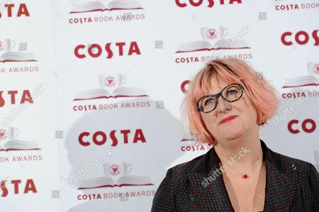 Costa Book Awards at Quaglino's Mayfair Sally Gardner (winner of Children's Book Award)