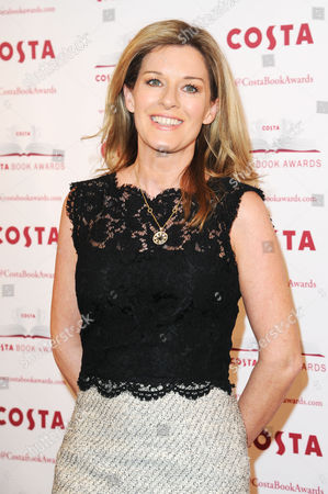 Stock Image of Costa Book Awards 2013 at Quaglinos Mayfair Andrea Catherwood