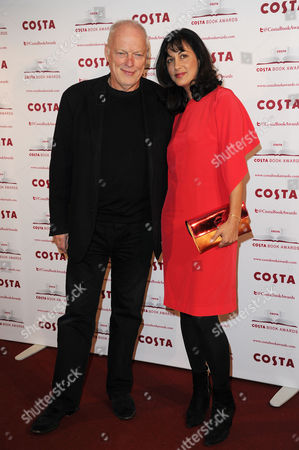 Costa Book Awards 2013 at Quaglinos Mayfair Dave Gilmour with His Wife Polly Samson