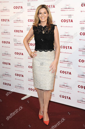 Stock Photo of Costa Book Awards 2013 at Quaglinos Mayfair Andrea Catherwood