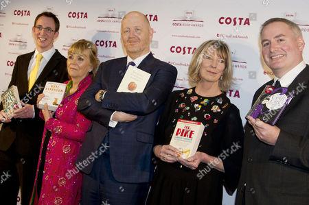 Editorial image of Costa Book Awards 2013 - 28 Jan 2014