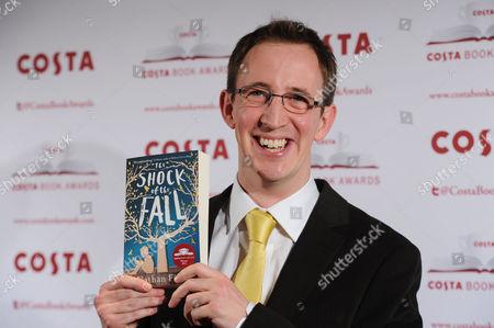 Costa Book Awards 2013 at Quaglinos Mayfair Nathan Filer - Costa First Novel Award Winner