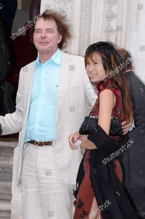 Creative Industries Reception at Foreign and Commonwealth Office Julian Lloyd Webber with His Wife Jiaxin Cheng