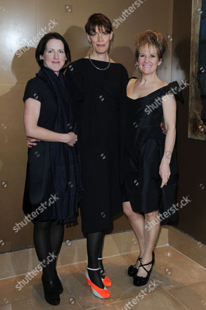 the London Critics Circle Film Awards at the Mayfair Hotel Tracy O'riordan Clio Barnard and Lorraine Ashbourne