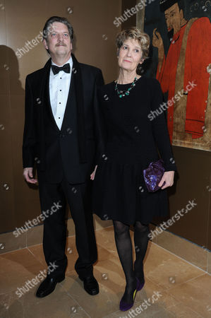 the London Critics Circle Film Awards at the Mayfair Hotel Andre Singer with His Wife Lynette Singer