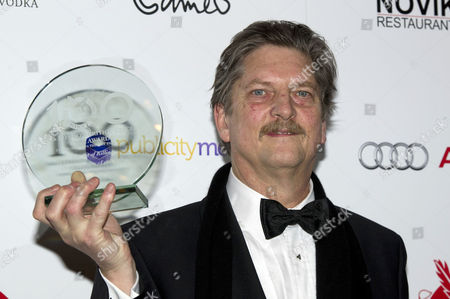 the London Critics Circle Film Awards at the Mayfair Hotel Andre Singer with the Award For Best Documentary - 'The Act of Killing'