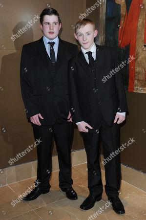 the London Critics Circle Film Awards at the Mayfair Hotel Shaun Thomas and Conner Chapman