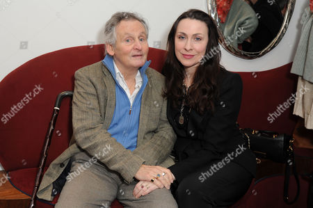 Critics Circle Theatre Awards at the Prince of Wales Theatre Leicester Square Max Stafford-clark with His Wife Stella Feehily