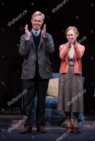 Curtain Call For Untold Stories at the Duchess Theatre Catherine Street Westminster London Alex Jennings & Gabrielle Lloyd