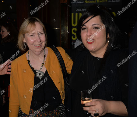 After Party For Untold Stories at the Radisson Blu Hotel Leicester Square Westminster London Gabrielle Lloyd & Nadia Fall