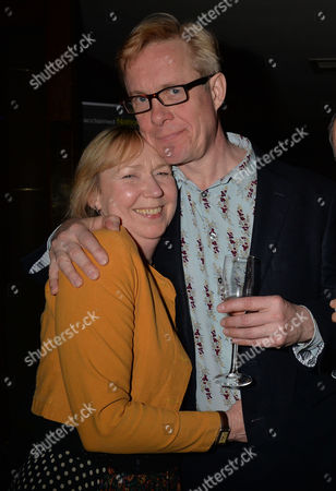 After Party For Untold Stories at the Radisson Blu Hotel Leicester Square Westminster London Gabrielle Lloyd Alex Jennings