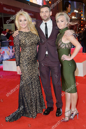 Daddy's Home - Uk Film Premiere at Vue Leicester Square Kirsty-leigh Porter Cameron Moore and Jorgie Porter