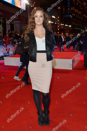 Daddy's Home - Uk Film Premiere at Vue Leicester Square April Pearson