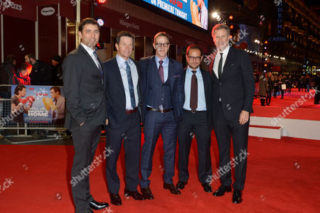 Daddy's Home - Uk Film Premiere at Vue Leicester Square David Koplan Mark Wahlberg Joey Mcfarland Riza Aziz and Will Ferrell
